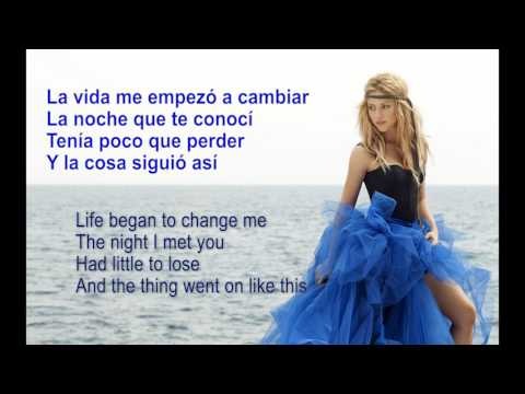 Shakira - Me Enamoré (Spanish & English Lyrics)