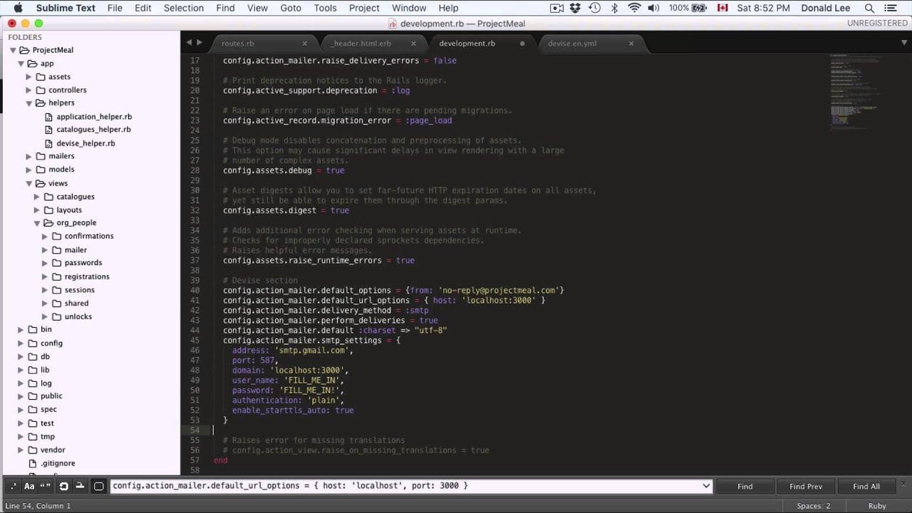 Ruby on Rails Tutorial 16 Devise Finale