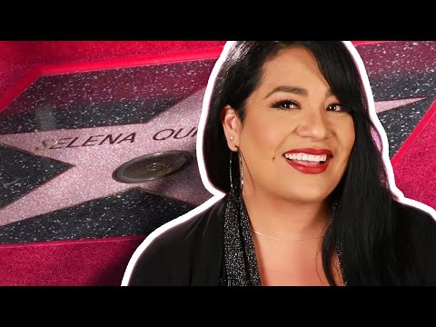 Selena Quintanilla Gets Her Star On The Hollywood Walk Of Fame