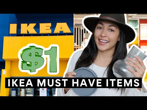 NEW IKEA PRODUCTS FOR $1! AFFORDABLE HOME DECOR + MUST HAVE ITEMS 2021