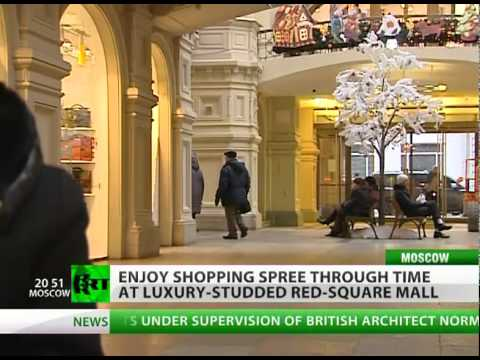 Red Square Glitz: Shopping spree time machine in Moscow's GUM