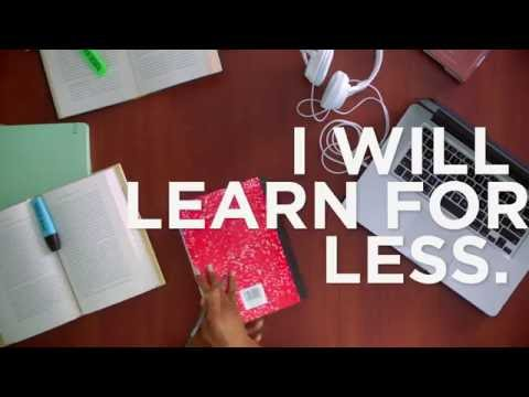 Valencia College - I Will Learn for Less (Books)