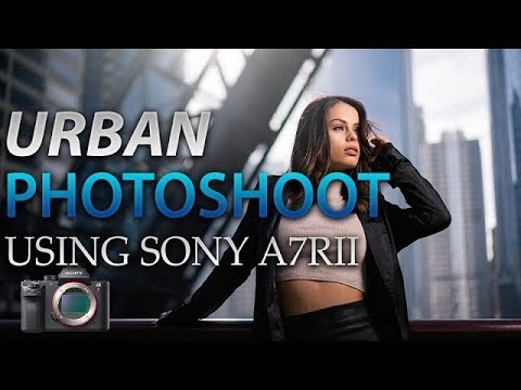 URBAN PHOTOSHOOT in Downtown Chicago using the SONY A7RII