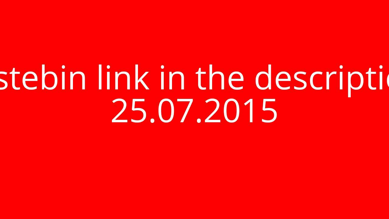 Minecraft Alt List!! (pastebin link) 25th July 2015