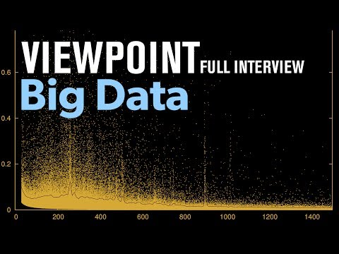 The collection and applications of big data - Full interview with Diane Schanzenbach | VIEWPOINT
