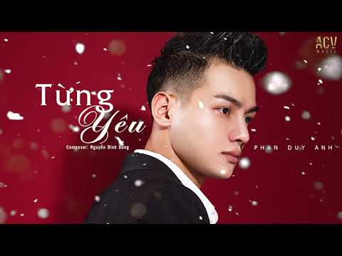 Từng Yêu - Beat Chuẩn ( Tone Nam ) l Phan Duy Anh