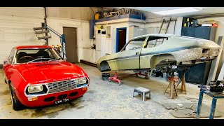 Lancia Fulvia 1600 Zaġato resto Part 8. How to create perfect bodywork from flat metal sheet