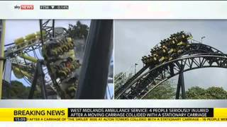 Alton Towers Smiler Rollercoaster Crash