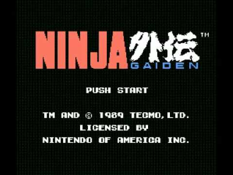 Ninja Gaiden (NES) Music - Act 1