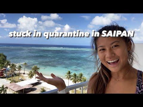 mandatory hotel quarantine in Saipan