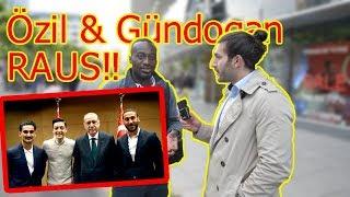 Özil & Gündogan Treffen mit Erdogan | Straßenumfrage