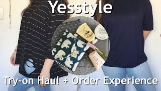 Yesstyle Haul + Try On (First Time Buyer)