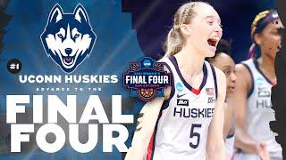 UConn vs. Baylor - Elite Eight Women's NCAA Tournament Extended Highlights