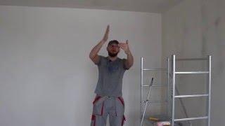 6# Покраска потолка(Малярные работы своими руками., 2016-01-18T11:29:50.000Z)
