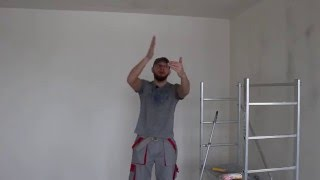 видео покраска гипсокартона своими руками