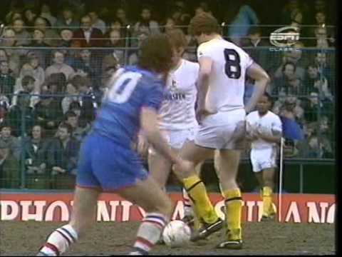Chelsea v Tottenham Hotspur 1984/85