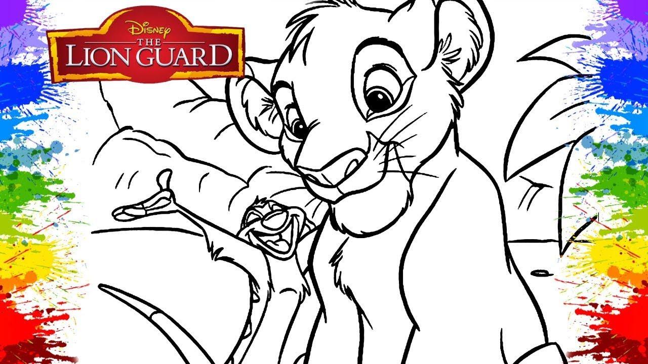 O Rei Leao Em Portugues The Lion King Simba Timon Desenho Animado
