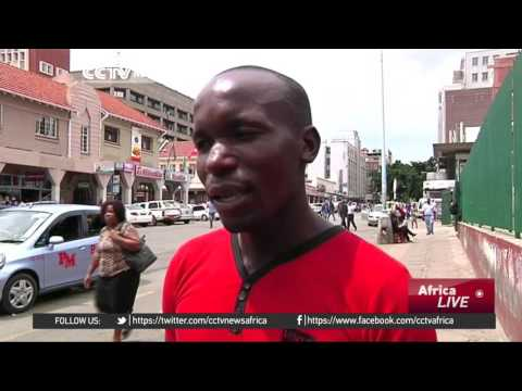 Demand for bottled water soars in Zimbabwe capital, Harare