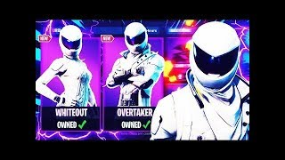 FORTNITE LIVE | NEW SKINS *WHITEOUT* AND *OVERTAKER* | 950+ WINS | 25,000+ KILLS