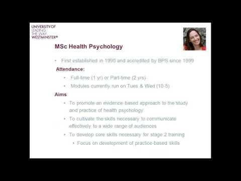 Psychology Online Postgraduate Information Session