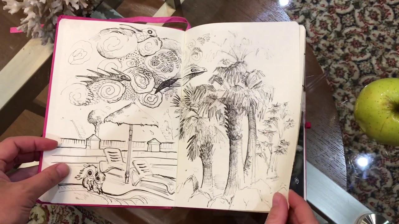 My New Fancy Pink Sketchbook