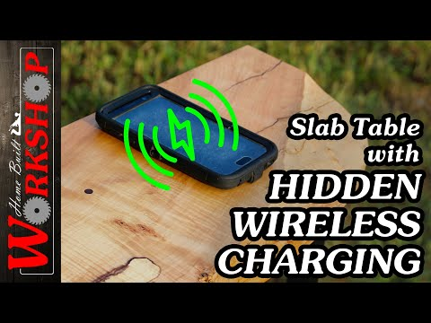 How to make a Hall Table, with hidden Wireless Charger