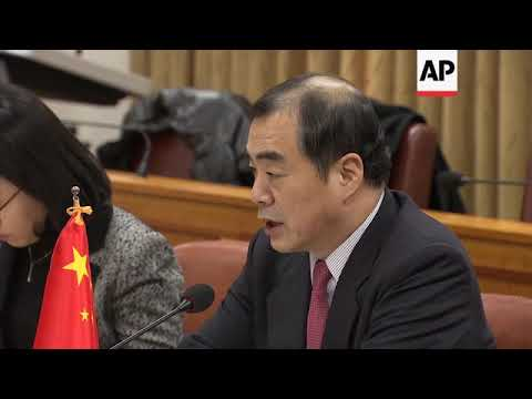 Chinese and South Korean officials discuss Korean Peninsula tensions