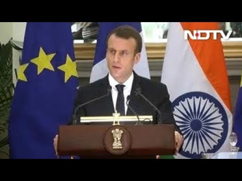 Want To Be India's Strategic Partner In Europe, Says French President