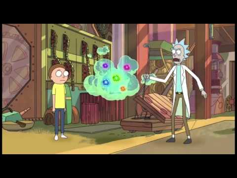 Goodbye Moonmen - Rick and Morty- Fart