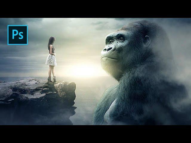 King Kong - Photoshop Manipulation Tutorial