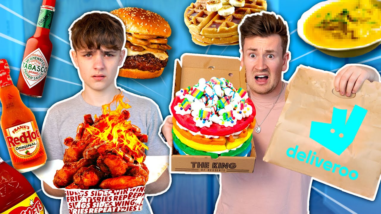 TRYING DELIVERY FOODS THAT I HAVE NEVER LIKED