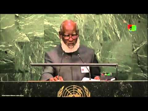 UN Speeches: Belize Minister for Foreign Affairs and Foreign Trade, Wilfred Elrington