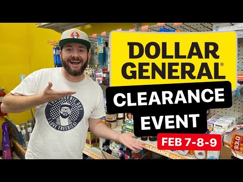 🔥 NEW DOLLAR GENERAL CLEARANCE EVENT - FEB 7-8-9
