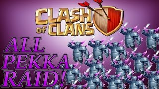 Clash of Clans: All P.E.K.K.A. Raid! (And Some Sad News)