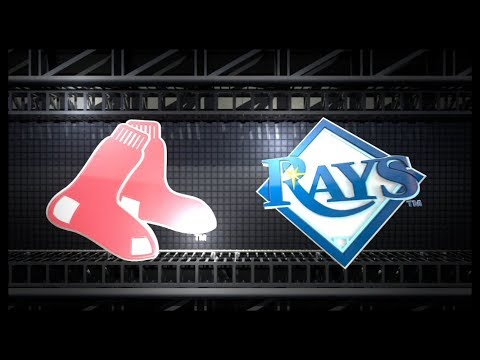 OPENING DAY 2018: BOSTON RED SOX vs TAMPA BAY RAYS at TROPICANA FIELD 3/29/18.  MLB THE SHOW 18