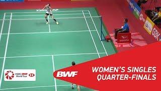 WS | Nozomi OKUHARA (JPN) [6] vs Ratchanok INTANON (THA) [4] | BWF 2018