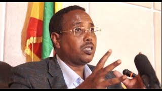 President Abdi speaksout about west harerge massacre of ethnic somalis