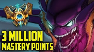 Challenger Kha'zix 3,000,000 MASTERY POINTS- Spectate the Highest Mastery Points on Kha'zix