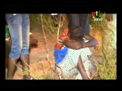 Accident sur l'axe Bobo   Diébougou d'un minibus faisant 22 morts et 8 blessés avec d'énormes dé