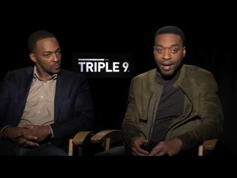 Anthony Mackie & Chiwetel Ejiofor Talk Acting and Playing Morally Ambiguous Characters