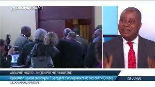 Adolphe Muzito : il ny aura pas délection