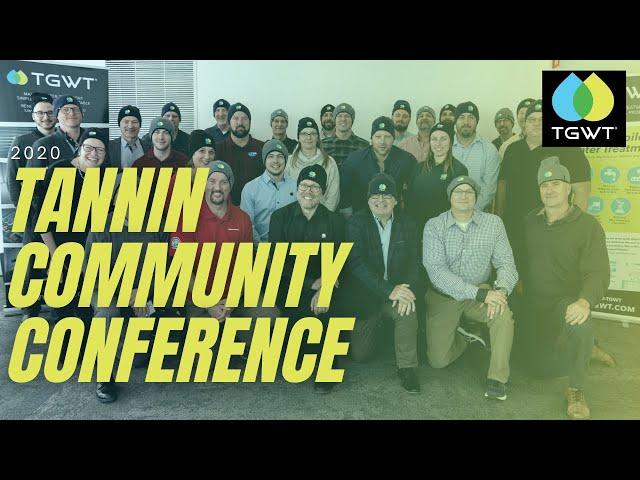 TGWT Tannin Community Conference 2020