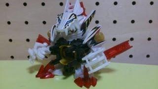 コントロールタイプの白虎型ビーダマンです。様々なギミックを持ってい...