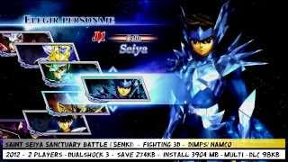 Saint Seiya Sanctuary Battle   Personajes