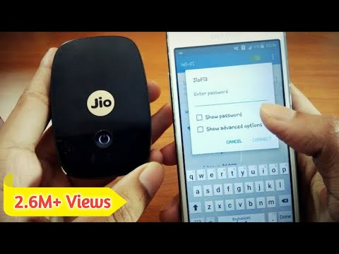 How To Change The Password Of JioFi Device In Hindi By Mobile ¦ How To Change The SSID Name Of JioFi