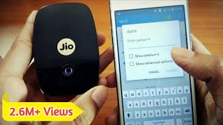 How to change the password of JioFi device in Hindi by Mobile How to change the SSID name of JioFi