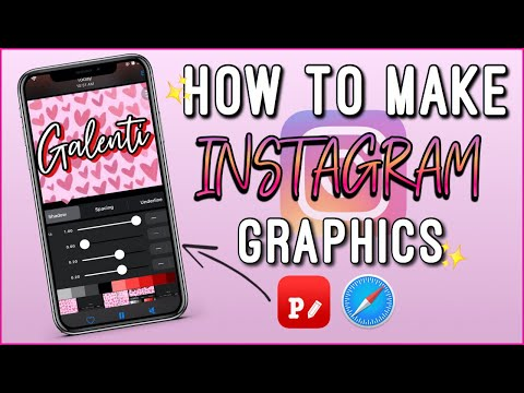 ✨MAKE FLYER/GRAPHICS FOR YOUR BUSINESS INSTAGRAM ON YOUR IPHONE 📱😄 EASY | ENTREPRENHER LIFE EP.14 ✨
