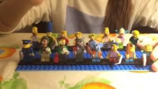 Обзор Lego mini figures The Simpsons(на Русском)