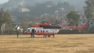 Pawanhans MI-17  helicopter Take-Off