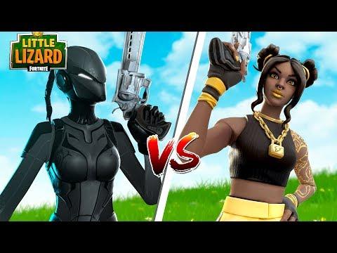 LYNX vs LUXE!!! - Fortnite SEASON 8 Short Film thumbnail